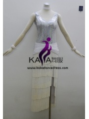 KAKA-L1311,Women Latin Dance Wear,Girls Salsa Practice Dance Dress Tango Samba Rumba Chacha Dance Dress,Latin Dance Dres