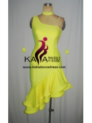 KAKA-L1319,Women Latin Dance Wear,Girls Salsa Practice Dance Dress Tango Samba Rumba Chacha Dance Dress,Latin Dance Dres