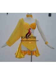 KAKA-L1323,Women Latin Dance Wear,Girls Salsa Practice Dance Dress Tango Samba Rumba Chacha Dance Dress,Latin Dance Dres