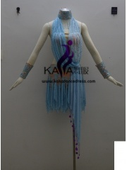 KAKA-L1330,Women Latin Dance Wear,Girls Salsa Practice Dance Dress Tango Samba Rumba Chacha Dance Dress,Latin Dance Dres