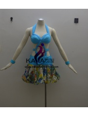 KAKA-L1331,Women Latin Dance Wear,Girls Salsa Practice Dance Dress Tango Samba Rumba Chacha Dance Dress,Latin Dance Dres