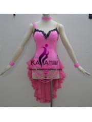 KAKA-L1333,Women Latin Dance Wear,Girls Salsa Practice Dance Dress Tango Samba Rumba Chacha Dance Dress,Latin Dance Dres