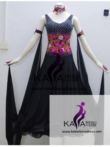 KAKA DANCE B1346,Ballroom Standard Dance Dress,Waltz Dance Competition Dress,Women,Girl,Ballroom Dance Dress