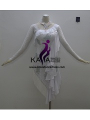 KAKAL1386,Women Latin Dance Wear,Girls Salsa Practice Dance Dress Tango Samba Rumba Chacha Dance Dress,Latin Dance Dress