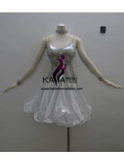 KAKAL1387,Women Latin Dance Wear,Girls Salsa Practice Dance Dress Tango Samba Rumba Chacha Dance Dress,Latin Dance Dress