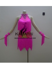 KAKAL1390,Women Latin Dance Wear,Girls Salsa Practice Dance Dress Tango Samba Rumba Chacha Dance Dress,Latin Dance Dress
