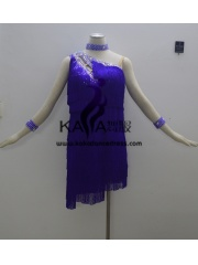 KAKAL1391,Women Latin Dance Wear,Girls Salsa Practice Dance Dress Tango Samba Rumba Chacha Dance Dress,Latin Dance Dress