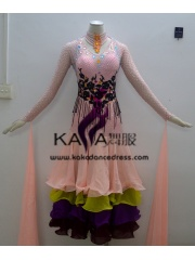 KAKA DANCE B1352,Ballroom Standard Dance Dress,Waltz Dance Competition Dress,Women,Girl,Ballroom Dance Dress