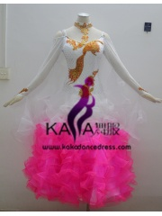 KAKA DANCE B1353,Ballroom Standard Dance Dress,Waltz Dance Competition Dress,Women,Girl,Ballroom Dance Dress