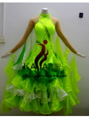 KAKA DANCE B1354,Ballroom Standard Dance Dress,Waltz Dance Competition Dress,Women,Girl,Ballroom Dance Dress