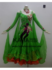 KAKA DANCE B1356,Ballroom Standard Dance Dress,Waltz Dance Competition Dress,Women,Girl,Ballroom Dance Dress