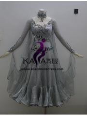 KAKA DANCE B1357,Ballroom Standard Dance Dress,Waltz Dance Competition Dress,Women,Girl,Ballroom Dance Dress