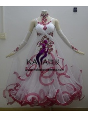 KAKA DANCE B1366,Ballroom Standard Dance Dress,Waltz Dance Competition Dress,Women,Girl,Ballroom Dance Dress