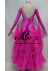 KAKA DANCE B1368,Ballroom Standard Dance Dress,Waltz Dance Competition Dress,Women,Girl,Ballroom Dance Dress