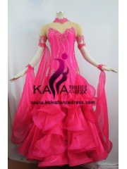 KAKA DANCE B1369,Ballroom Standard Dance Dress,Waltz Dance Competition Dress,Women,Girl,Ballroom Dance Dress