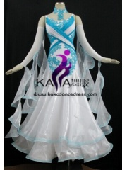 KAKA DANCE B1370,Ballroom Standard Dance Dress,Waltz Dance Competition Dress,Women,Girl,Ballroom Dance Dress