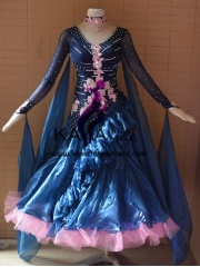 KAKA DANCE B1371,Ballroom Standard Dance Dress,Waltz Dance Competition Dress,Women,Girl,Ballroom Dance Dress