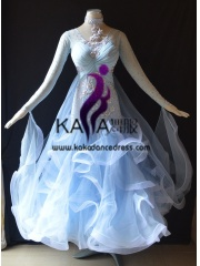 KAKA DANCE B1373,Ballroom Standard Dance Dress,Waltz Dance Competition Dress,Women,Girl,Ballroom Dance Dress
