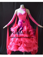 KAKA DANCE B1375,Ballroom Standard Dance Dress,Waltz Dance Competition Dress,Women,Girl,Ballroom Dance Dress
