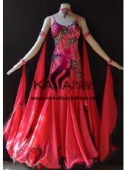 KAKA DANCE B1379,Ballroom Standard Dance Dress,Waltz Dance Competition Dress,Women,Girl,Ballroom Dance Dress