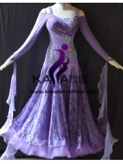 KAKA DANCE B1380,Ballroom Standard Dance Dress,Waltz Dance Competition Dress,Women,Girl,Ballroom Dance Dress
