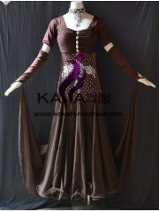 KAKA DANCE B1381,Ballroom Standard Dance Dress,Waltz Dance Competition Dress,Women,Girl,Ballroom Dance Dress