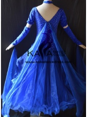 KAKA DANCE B1382,Ballroom Standard Dance Dress,Waltz Dance Competition Dress,Women,Girl,Ballroom Dance Dress
