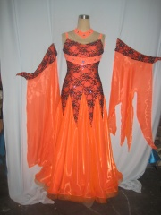 KAKA DANCE B1383,Ballroom Standard Dance Dress,Waltz Dance Competition Dress,Women,Girl,Ballroom Dance Dress