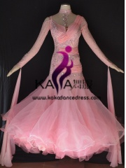 KAKA DANCE B1386,Ballroom Standard Dance Dress,Waltz Dance Competition Dress,Women,Girl,Ballroom Dance Dress