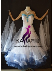 KAKA DANCE B1388,Ballroom Standard Dance Dress,Waltz Dance Competition Dress,Women,Girl,Ballroom Dance Dress