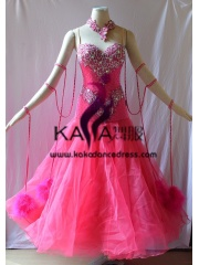 KAKA DANCE B1389,Ballroom Standard Dance Dress,Waltz Dance Competition Dress,Women,Girl,Ballroom Dance Dress