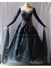 KAKA DANCE B1390,Ballroom Standard Dance Dress,Waltz Dance Competition Dress,Women,Girl,Ballroom Dance Dress