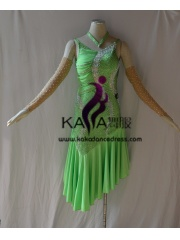 KAKAL1434,Women Latin Dance Wear,Girls Salsa Practice Dance Dress Tango Samba Rumba Chacha Dance Dress,Latin Dance Dress