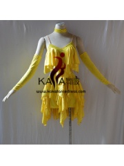 KAKAL1446,Women Latin Dance Wear,Girls Salsa Practice Dance Dress Tango Samba Rumba Chacha Dance Dress,Latin Dance Dress