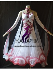 KAKA DANCE B1396,Ballroom Standard Dance Dress,Waltz Dance Competition Dress,Women,Girl,Ballroom Dance Dress