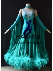 KAKA DANCE B1397,Ballroom Standard Dance Dress,Waltz Dance Competition Dress,Women,Girl,Ballroom Dance Dress
