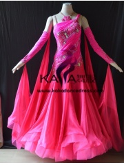 KAKA DANCE B1398,Ballroom Standard Dance Dress,Waltz Dance Competition Dress,Women,Girl,Ballroom Dance Dress