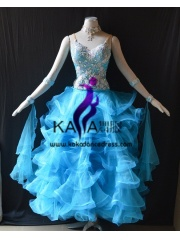 KAKA DANCE B1399,Ballroom Standard Dance Dress,Waltz Dance Competition Dress,Women,Girl,Ballroom Dance Dress