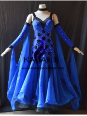 KAKA DANCE B1401,Ballroom Standard Dance Dress,Waltz Dance Competition Dress,Women,Girl,Ballroom Dance Dress