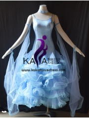 KAKA DANCE B1405,Ballroom Standard Dance Dress,Waltz Dance Competition Dress,Women,Girl,Ballroom Dance Dress