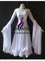 KAKA DANCE B1406,Ballroom Standard Dance Dress,Waltz Dance Competition Dress,Women,Girl,Ballroom Dance Dress
