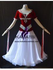 KAKA DANCE B1409,Ballroom Standard Dance Dress,Waltz Dance Competition Dress,Women,Girl,Ballroom Dance Dress
