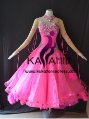 KAKA DANCE B1413,Ballroom Standard Dance Dress,Waltz Dance Competition Dress,Women,Girl,Ballroom Dance Dress