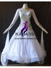 KAKA DANCE B1415,Ballroom Standard Dance Dress,Waltz Dance Competition Dress,Women,Girl,Ballroom Dance Dress