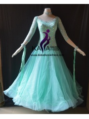 KAKA DANCE B1416,Ballroom Standard Dance Dress,Waltz Dance Competition Dress,Women,Girl,Ballroom Dance Dress