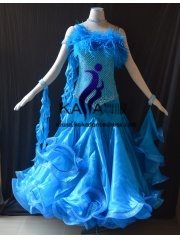 KAKA DANCE B1417,Ballroom Standard Dance Dress,Waltz Dance Competition Dress,Women,Girl,Ballroom Dance Dress