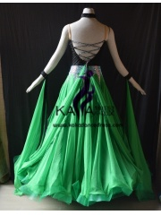 KAKA DANCE B1418,Ballroom Standard Dance Dress,Waltz Dance Competition Dress,Women,Girl,Ballroom Dance Dress