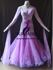 KAKA DANCE B1420,Ballroom Standard Dance Dress,Waltz Dance Competition Dress,Women,Girl,Ballroom Dance Dress