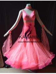 KAKA DANCE B1422,Ballroom Standard Dance Dress,Waltz Dance Competition Dress,Women,Girl,Ballroom Dance Dress