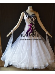 KAKA DANCE B1423,Ballroom Standard Dance Dress,Waltz Dance Competition Dress,Women,Girl,Ballroom Dance Dress